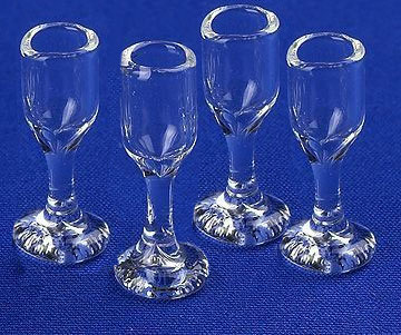 Wine Glasses (x4)